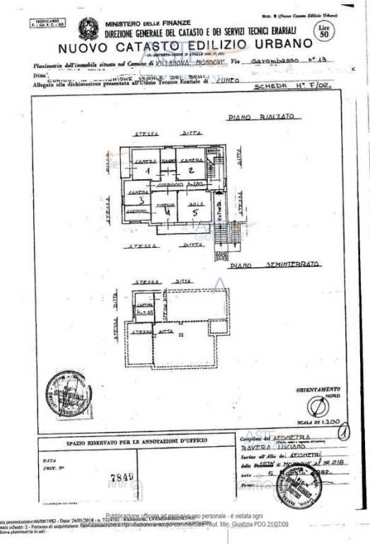 foto  Appartamento all'asta via Garombasso 13, Villanova Mondovì