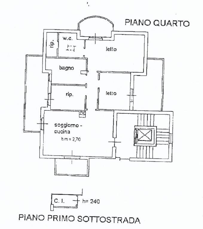 foto planimetria Appartamento Strada Provinciale della Vibrata, Nereto