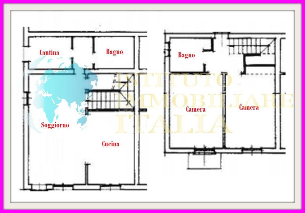foto PLANIMETRIA Appartamento all'asta Castelnuovo, Vergato