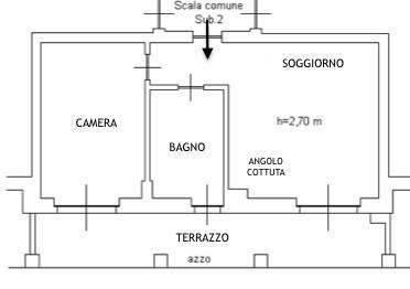 foto Alloggio 2-room flat via Vecchia Cuneo 32, Beinette