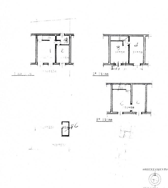 foto Planimetria Villa unifamiliare, buono stato, 126 mq, Costanzana