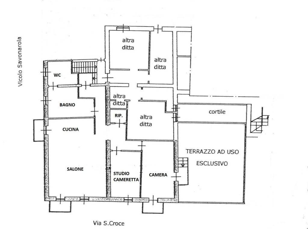 foto  4-room flat via Santa Croce, Moncalieri