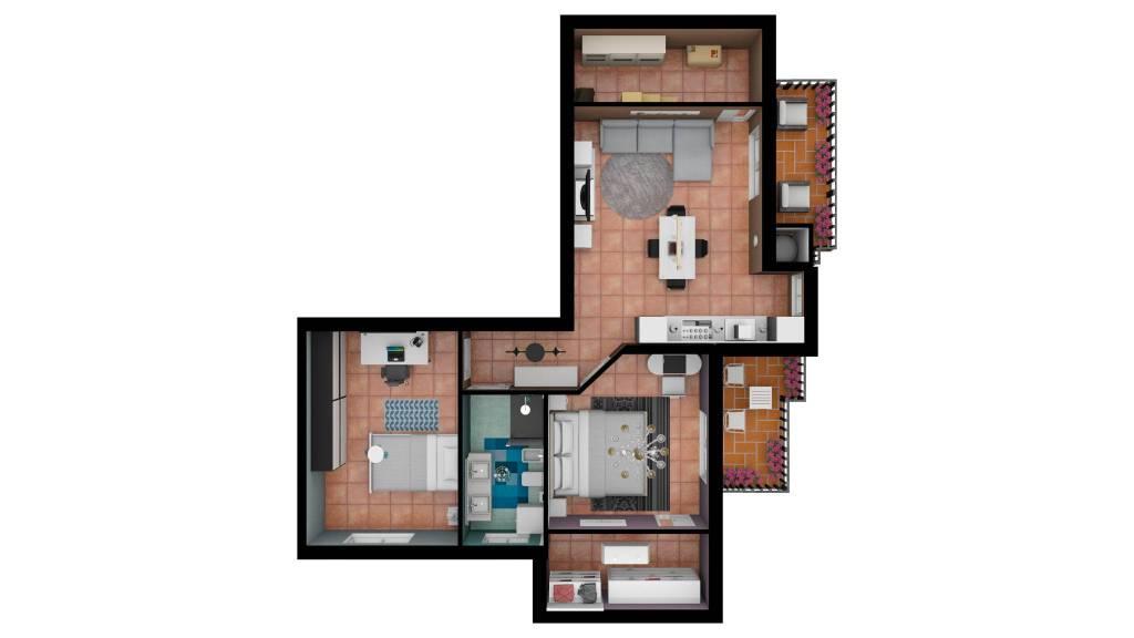 foto 1 3-room flat via Leonardo da Vinci 13, Condove