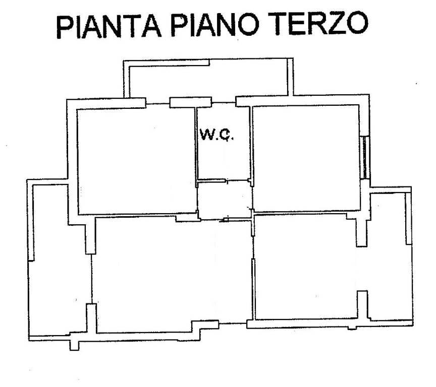 foto Planimetria Appartamento 3-room flat viale della Libertà, Lusciano