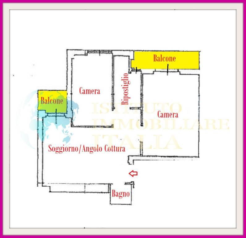 foto PLANIMETRIA Appartamento all'asta via Muzio Clementi 5, Latina