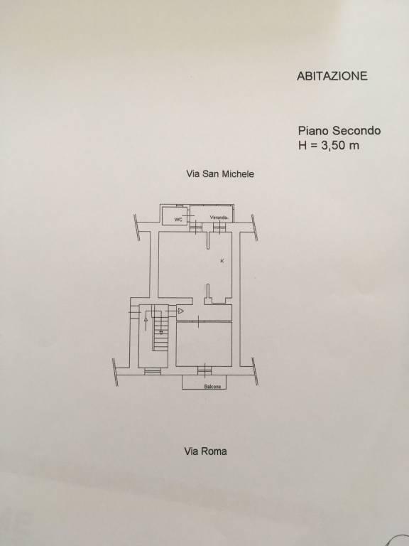 foto planimetria 2-room flat via roma, Sant'Angelo Romano