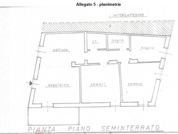 foto  Appartamento all'asta via Castel Baradello, Como