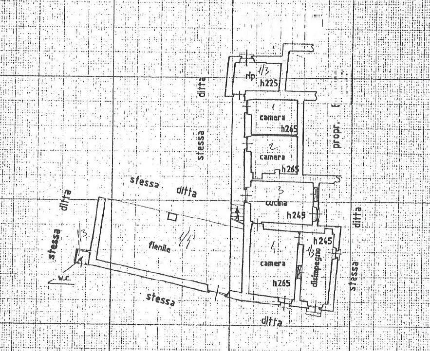 foto plan Farmhouse frazione Inverso Buffa, Villar Pellice