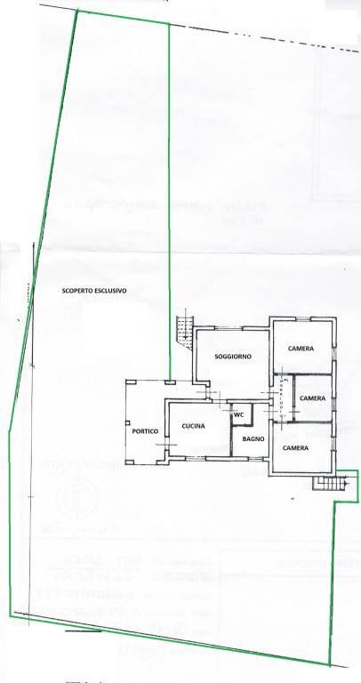 foto piantina Villa bifamiliare Strada Casella, Tavullia