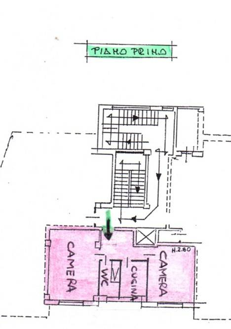 foto PIANTINA 3-room flat corso Re Umberto 52, Verzuolo