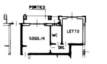 foto appartamento Двухкомнатная квартира via Papa Giovanni XXIII 6, Carnate
