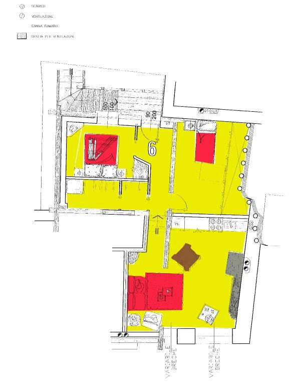 foto  Penthouse excellent condition, 70 sq.m., Saint-Vincent