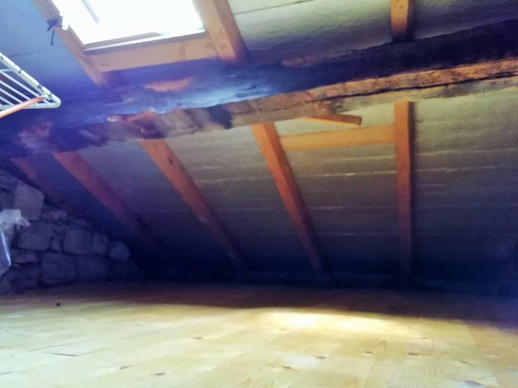foto solaio Single-family townhouse via Pizzo Gordona 21, Argegno