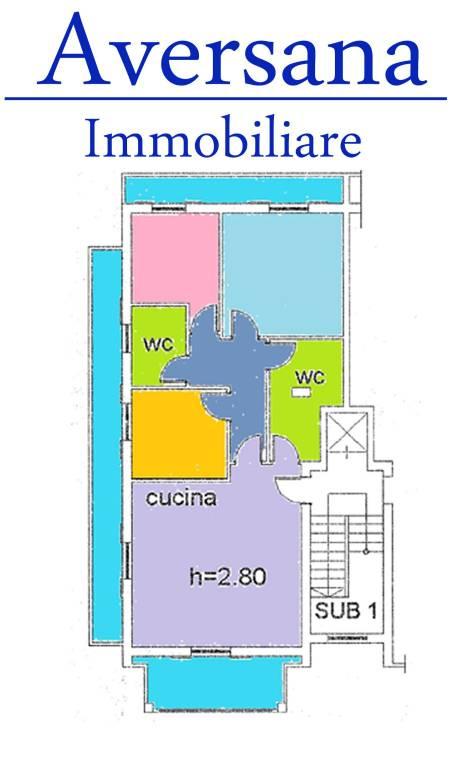 foto Planimetria 4-room flat via Enrico De Nicola 33, Trentola-Ducenta