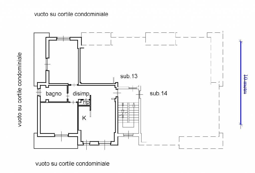 foto alloggio 3-room flat Strada Santa Margherita, Robilante