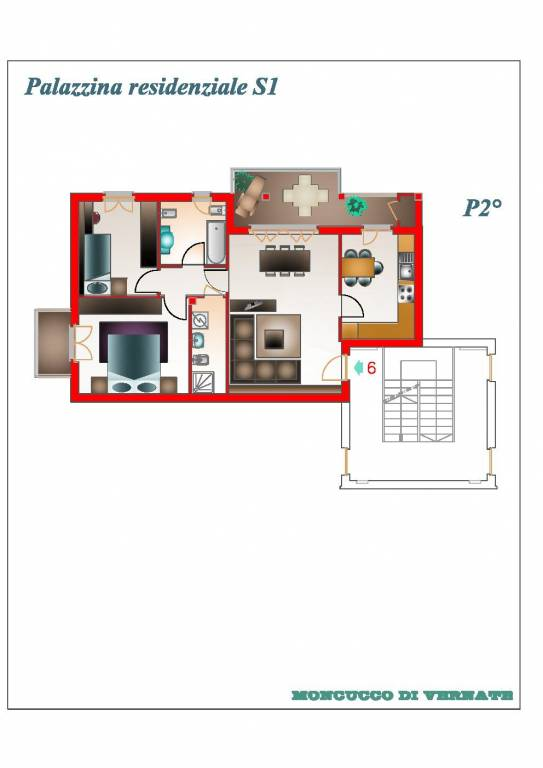foto  3-room flat via Nuova 38, Vernate