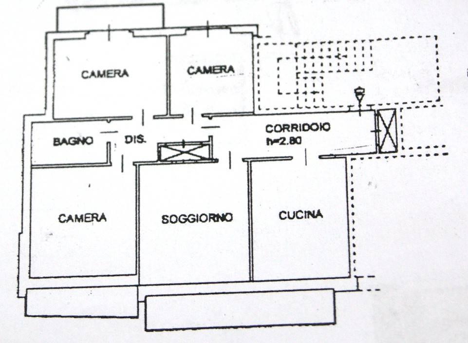 foto Planimetria Quadrilocale via Gravellona Strada Nuova, Mergozzo