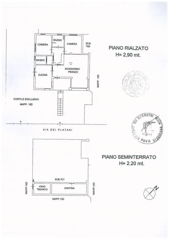 foto  Two-family villa via dei Platani 6, Assago