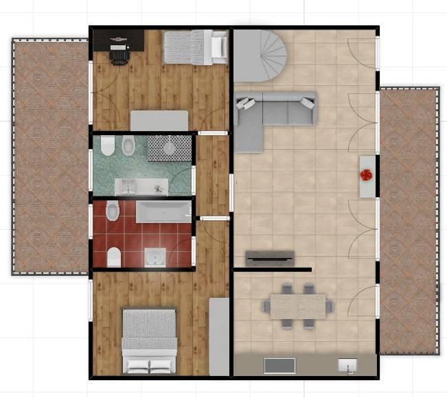 foto Planimetria Appartamento via Nazionale, San Martino Buon Albergo