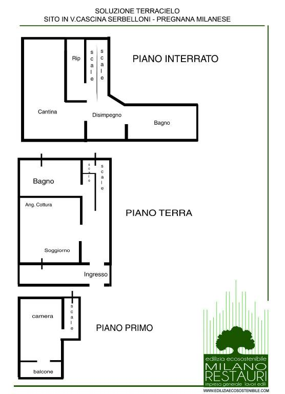 foto  Single-family townhouse Cascina Serbelloni, Pregnana Milanese