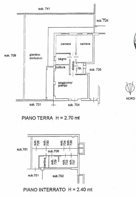 foto  3-room flat via Papa Albino Luciani 24, Romano di Lombardia