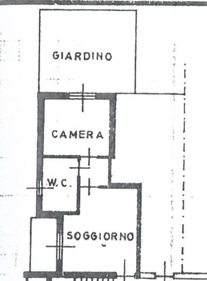 foto Piantina Двухкомнатная квартира via Paolo VI, Mariano Comense
