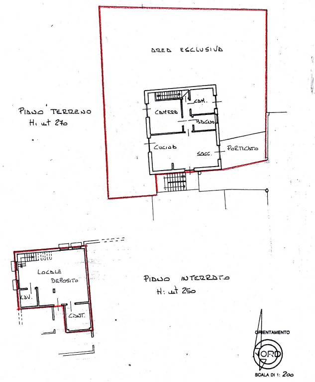 foto Planimetria 4-room flat via al Cerrone 11, Villar Dora
