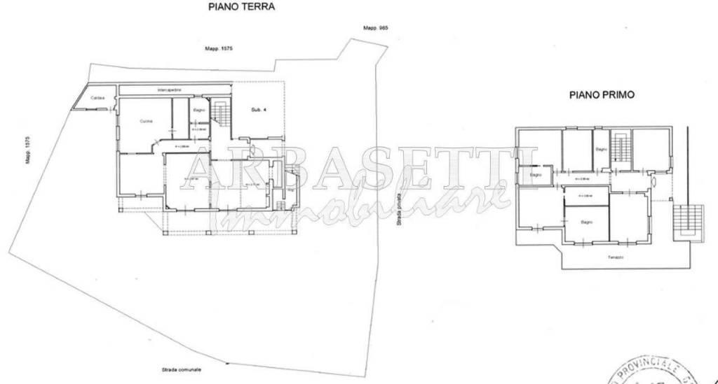 foto planimetria Leivi Pellegrini - Copia Single family villa via I Maggio, Leivi
