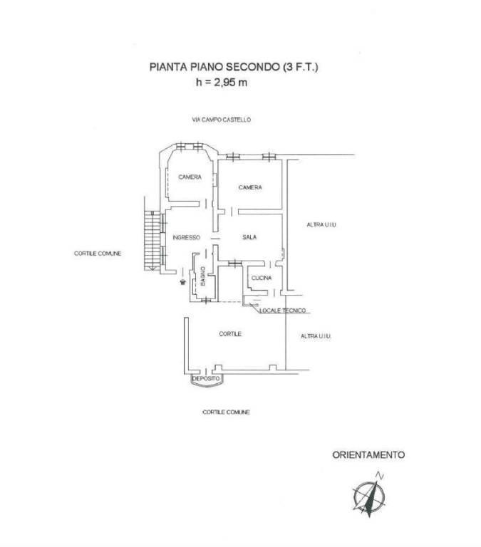 foto 123123 Apartment good condition, second floor, Meana di Susa