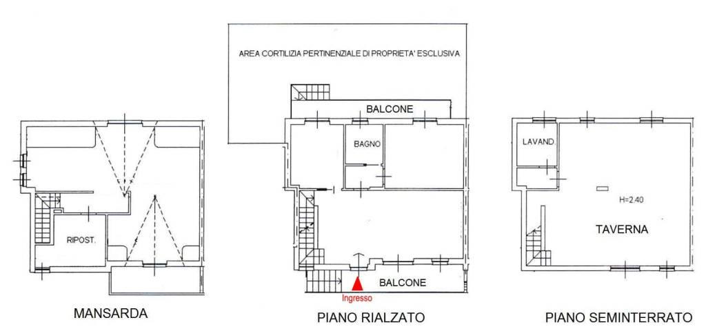 foto  Single family villa, new, 164 sq.m., Buscate