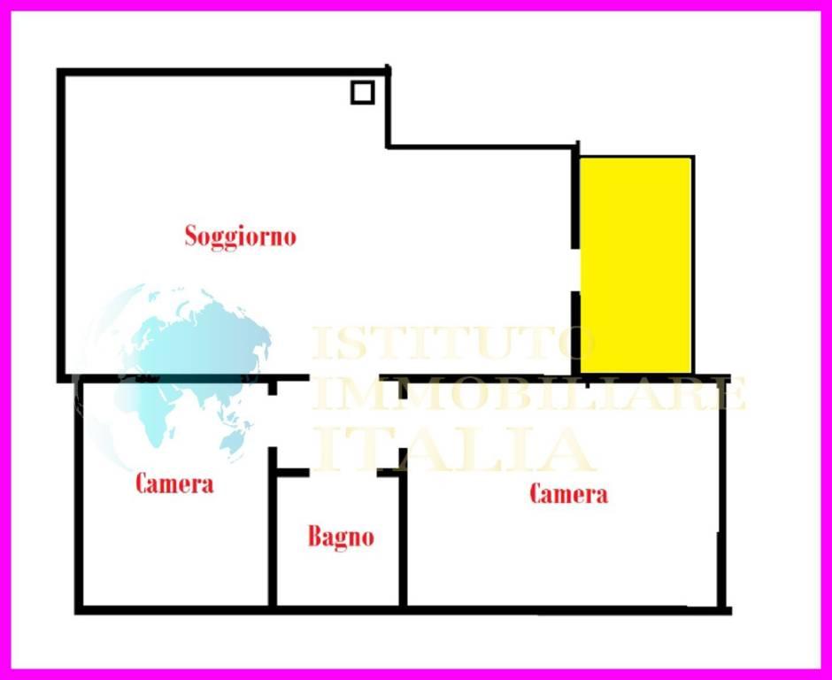 foto Planimetria Appartamento all'asta via P  Ghignoni 7, Tarquinia