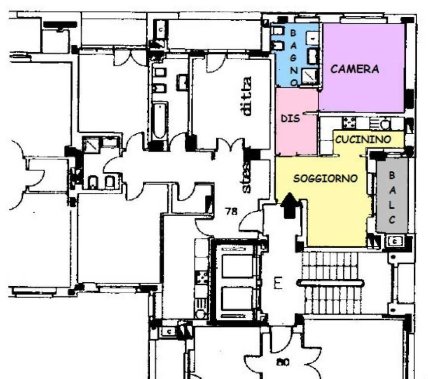 foto appartamento Bilocale corso Trapani 221, Torino
