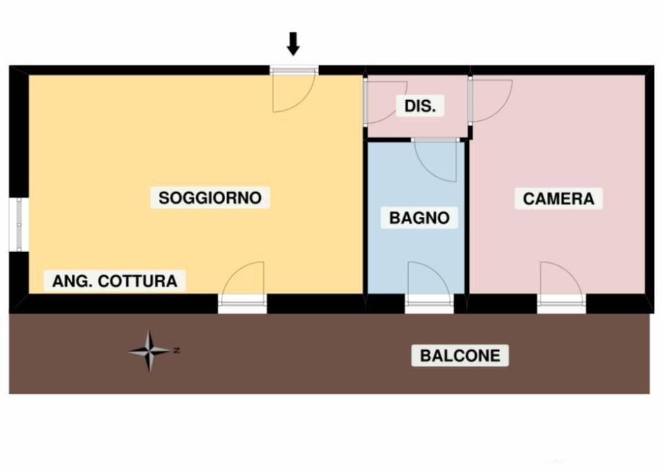 foto  2-room flat frazione Chataignere 3, Challand-Saint-Victor