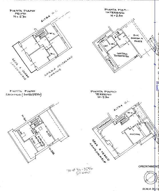 foto PLANIMETRIA Terraced house via Asilo 3, Casalborgone
