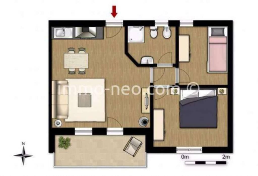 foto  3-room flat via Valeriana, Aprica