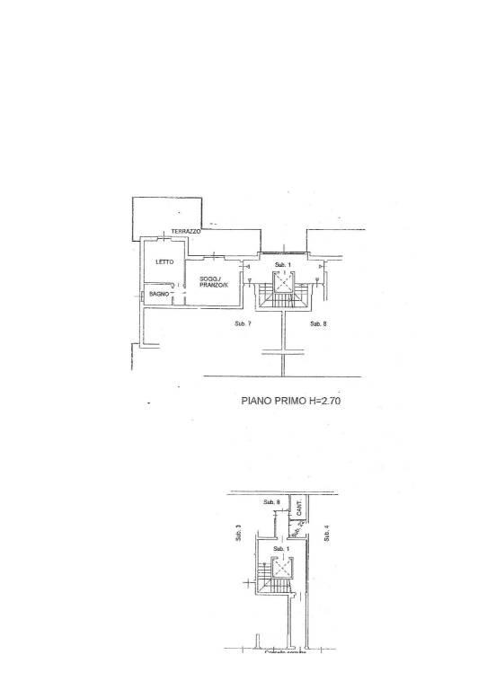 foto casa 2-room flat via Carlo Alberto Dalla Chiesa, Capriate San Gervasio