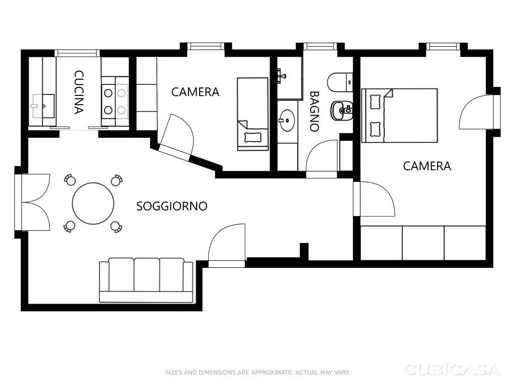 foto  3-room flat via Lys Waeg 9, Gressoney-Saint-Jean