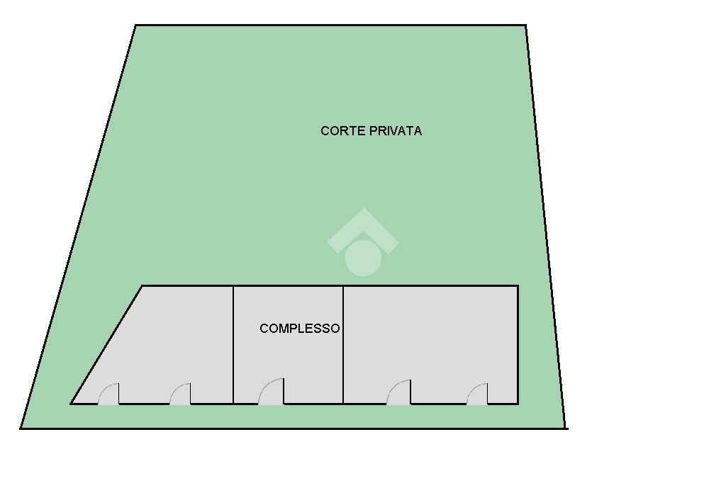 foto planicomplesso Fazenda, para restauro, 300 m², Gambettola