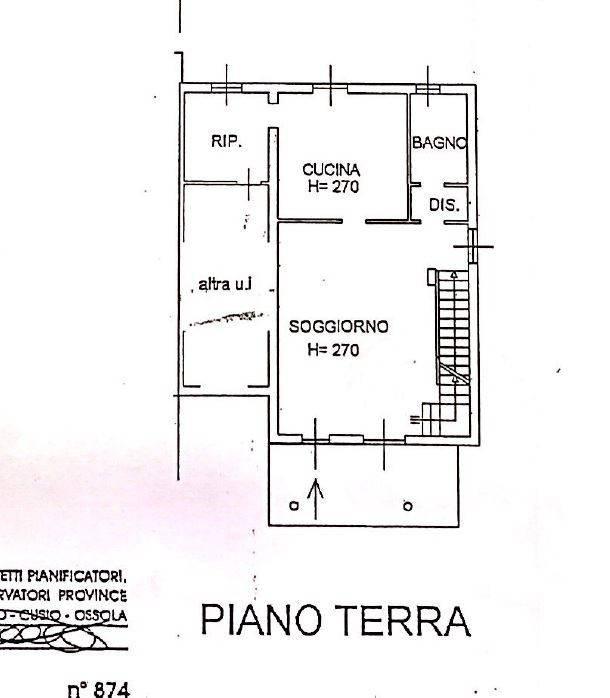 foto Piano terra Villa unifamiliare via Monsignor A  Rastelli, Borgo Vercelli