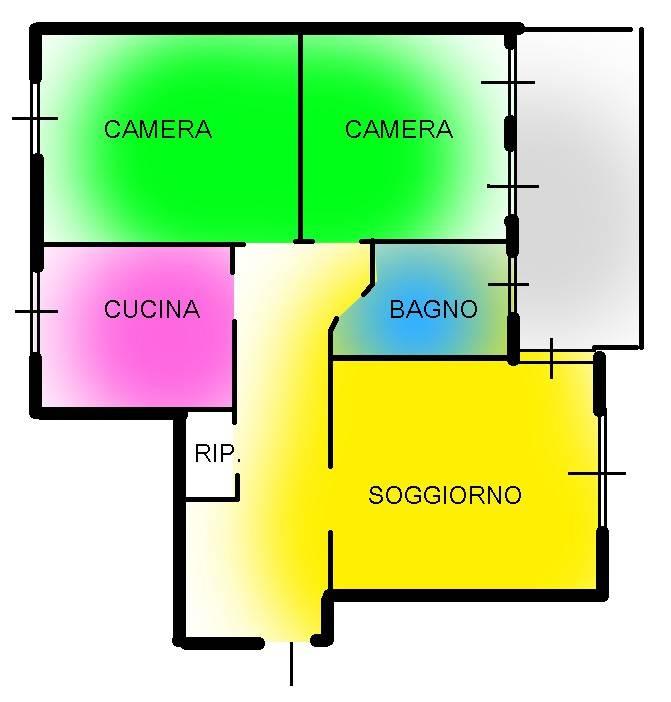 foto appartamento-novate Trilocale via Cascina del Sole 13, Novate Milanese