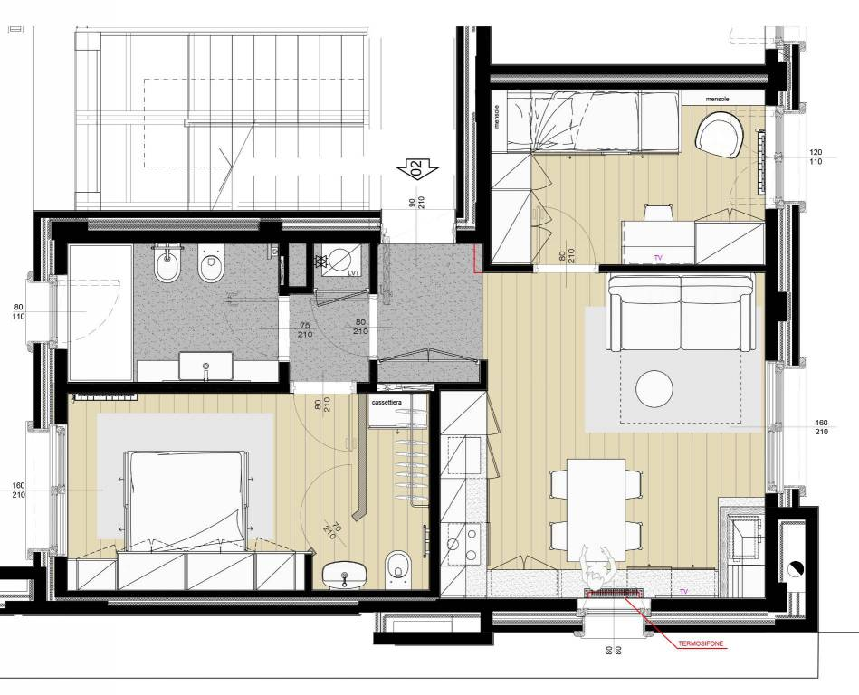foto  3-room flat Località Arly 41B, La Thuile