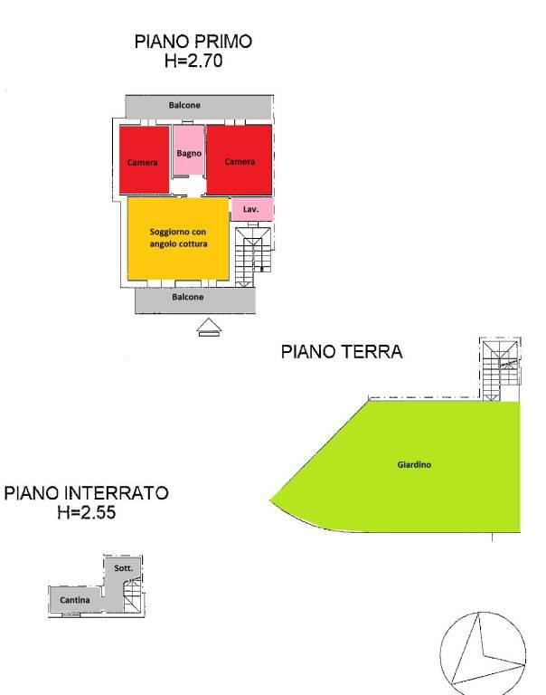 foto  3-room flat via Giovanni Paolo, Mozzecane