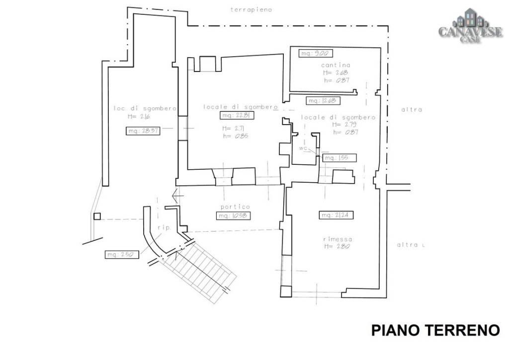 foto piantina Detached house via Crosa 9, Quagliuzzo