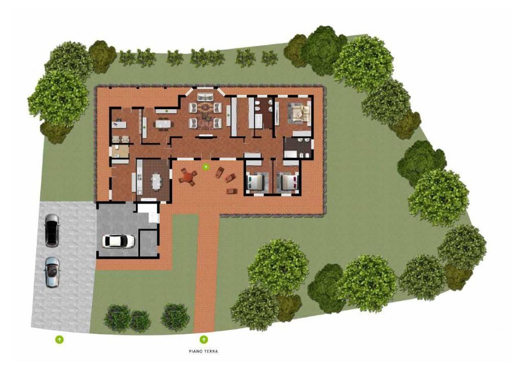 foto lotto e immobile Single family villa via Cavalieri di Vittorio Veneto, Camisano Vicentino