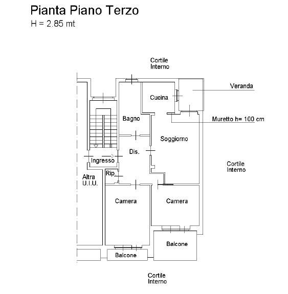 foto  3-room flat via Benna 14, Leinì
