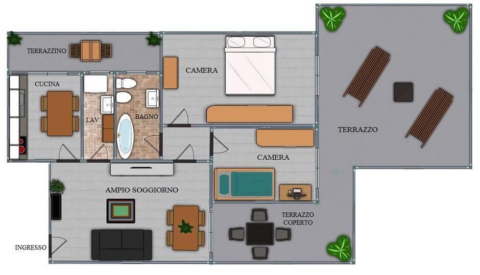 foto  3-room flat vicolo Cesare Battisti 12, Truccazzano