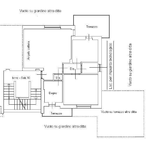 foto Alloggio 3-room flat via Saluzzo, Mondovì