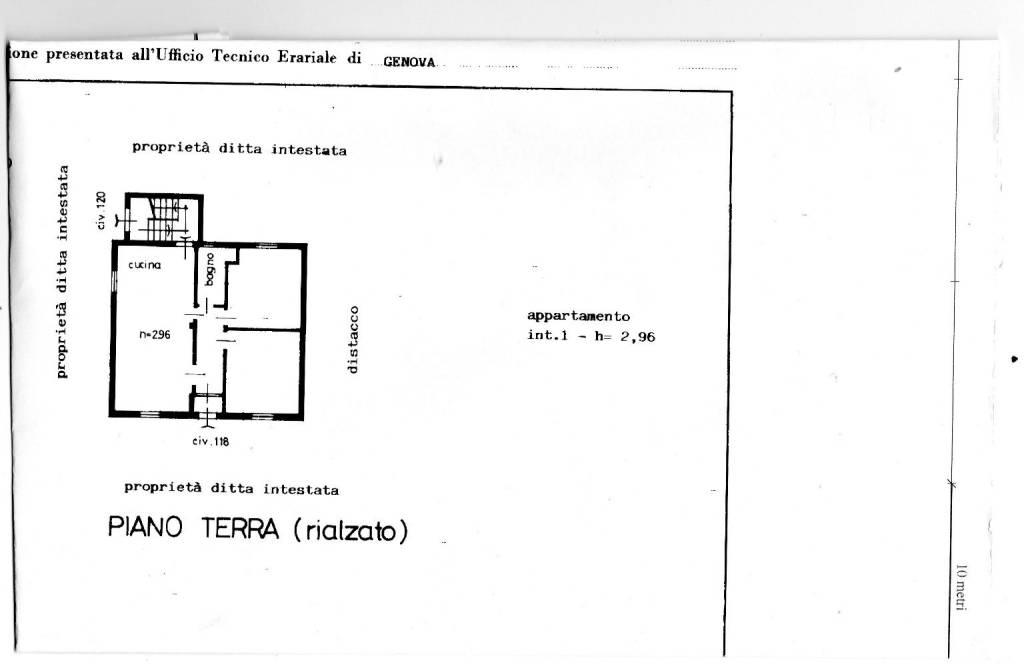 foto Planimetria. Two-family villa via Francolano 118, Casarza Ligure