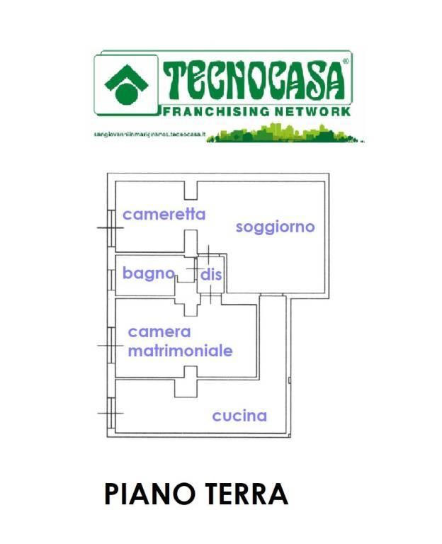 foto piano terra Appartamento in villa via Roma, Tavullia