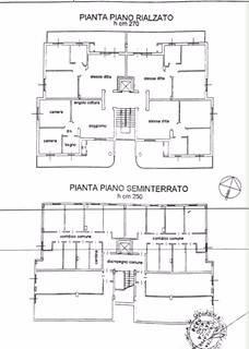 foto planimetria 3-room flat via PRIMO LEVI, Brandizzo